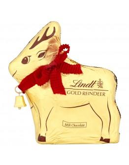 Lindt Milk Chocolate Gold Reindeer 100g