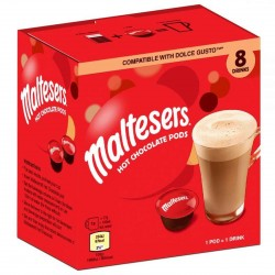 Maltesers 8 Hot Chocolate Pods Dolce Gusto Compatible 136g