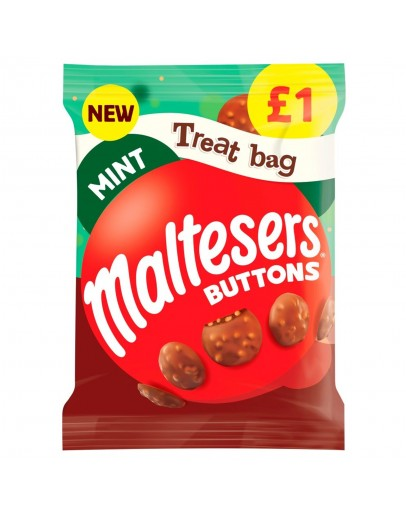 Maltesers Mint Buttons 1p 68g