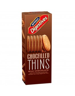 Mcvitie's Chocolate Filled Thins Milk Chocolate 130g
