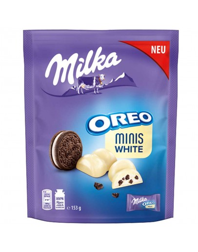 Milka Оreo minis white 153g