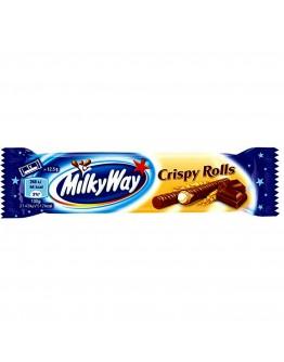 Milky Way Crispy Rolls, 25 G