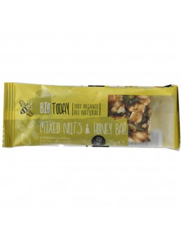 Mixed Nuts WITH Honey Bar Organic 25g