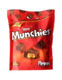 Munchies Pouch with milk chocolate 104g