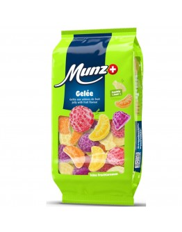 Munz Jelly With Fruit Flavors 200g