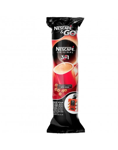 Nescafe  Go 3 in 1 White Coffee Cups 8 Pack