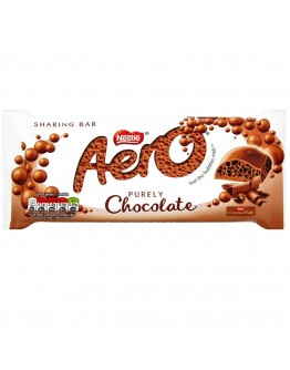 Nestlé Aero Milk Chocolate Giant Block 100g