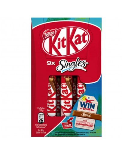 Nestle Kitkat Singles 136.8g