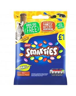 Nestle Smarties Milk Chocolate Sweets 87g