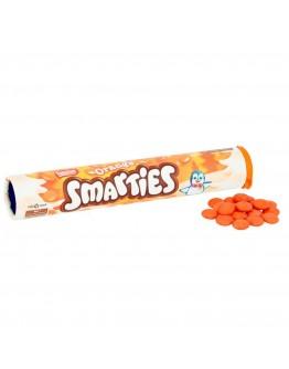 Orange Smarties Giant Tube 150g