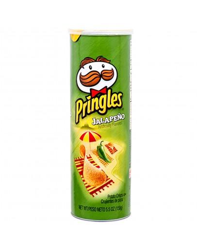 Pringles Jalapeno Flavored Potato Crisps158g
