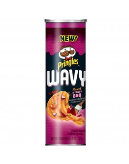 Pringles Wavy Sweet  Tangy BBQ 137g