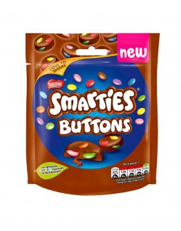 Smarties Buttons Pouch 90g