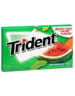 Trident Gum Watermelon sugar free chewing gum 36g