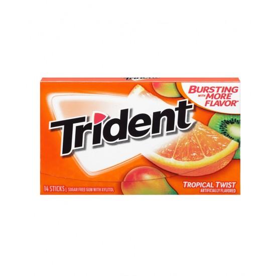 Trident Tropical Twist Sugar Free 36g