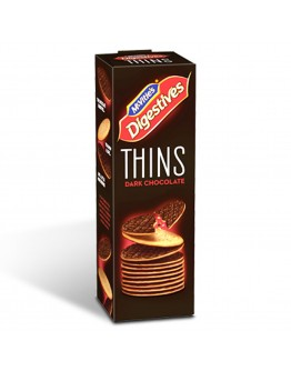 Mcvitie's Dark Chocolate Digestive Thins 180g