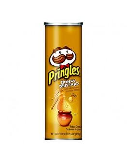 Pringles Honey Mustard Potato Crisps Chips 158g