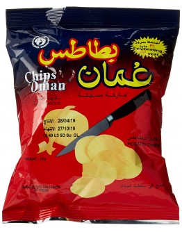 Chips Oman Chilli Flavour 15g