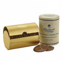 Charbonnel Et Walker Milk Chocolate Sea Salt Caramel Thins 195g