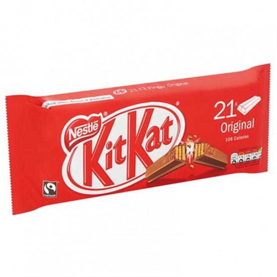 Nestle Kit Kat Chocolate Bars 2 Finger original 21*20.7g