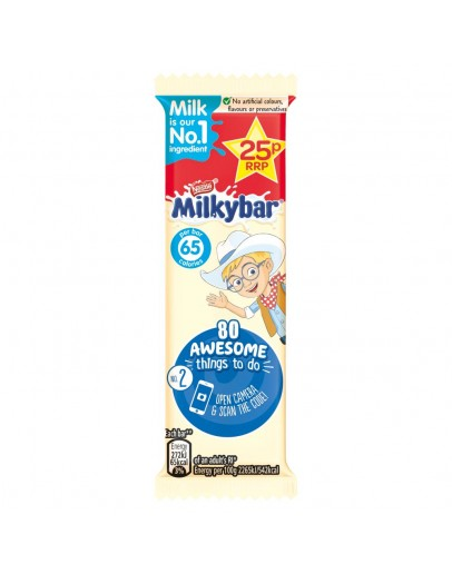 Milkybar White Chocolate Kid Bar 12g