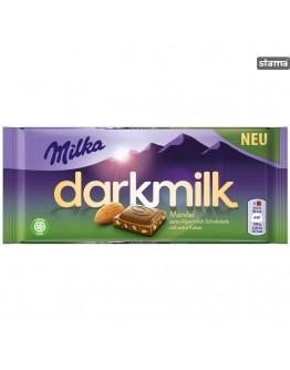 Milka DarkMilk Almond Chocolate 85g